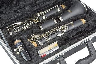 Buffet Crampon R13 Professional Bb Clarinet with Nickel Keys Yamaha YCL-255 Standard Bb Clarinet Bb Clarinet Jupiter JCL-700N Student Clarinet Nickel Plated LJ Hutchen Bb Clarinet with Hardshell Case
