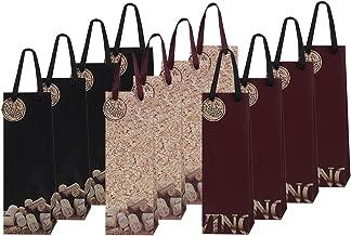12 Piece Exclusive Wine Bags, 3 Handsome Designs