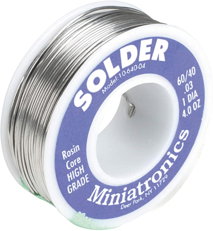 17 Grams Racers Edge 60//40 Rosin Core Solder