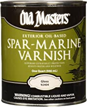Best old masters exterior oil based spar marine varnish Reviews