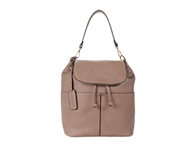 SOLE / SOCIETY Noemi Shoulder (Taupe) Handbags