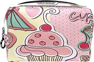 Cosmetische tas make-up tas reizen cosmetische zakje clutch portemonnee toilettas hete dessert cup cake