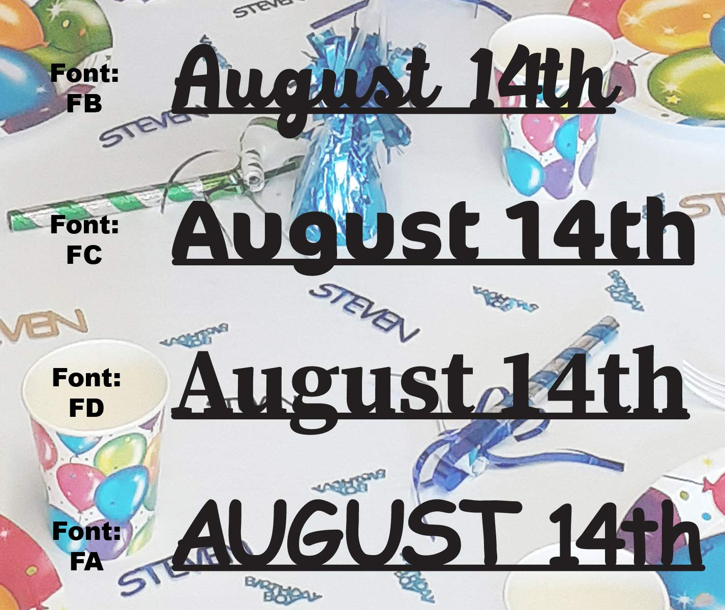 Free shipping on posting reviews AUGUST 14th - Date Confetti in 12 Limited price Conf Colors. Includes Metallic
