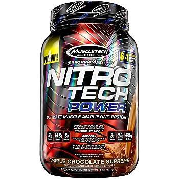 Nitrotech Power Performance Series 2 lbs Triple Chocolate Supreme