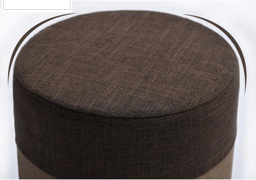 SLL- Tabouret en tissu créatif tabouret maison table basse tabouret chaussure adulte banc canapé tabouret Fauteuils et Chaises (Color : E) C