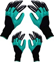 Garden Genie Gloves,Waterproof Gardening Gloves with Hand Sturdy Claws,Quick & Easy to Dig & Plant Plants,Safe for Rose Pr...