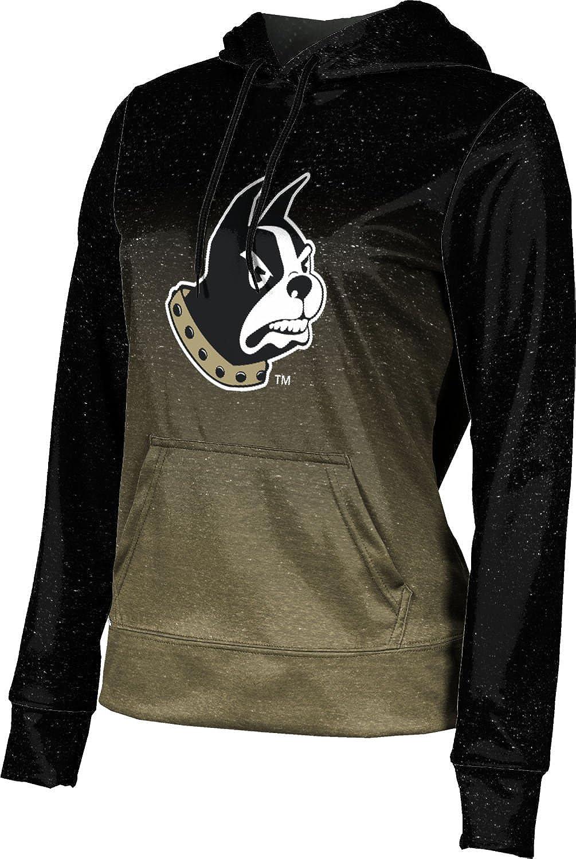 ProSphere Wofford College University Girls' Pullover Hoodie, School Spirit Sweatshirt (Ombre)