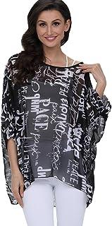 1d82b874ab15 Amazon.es: tallas grandes mujer - Blusas y camisas / Camisetas, tops ...