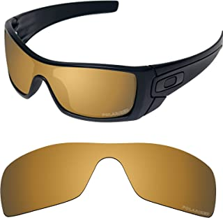 Performance Lenses Compatible with Oakley Batwolf Polarized Etched