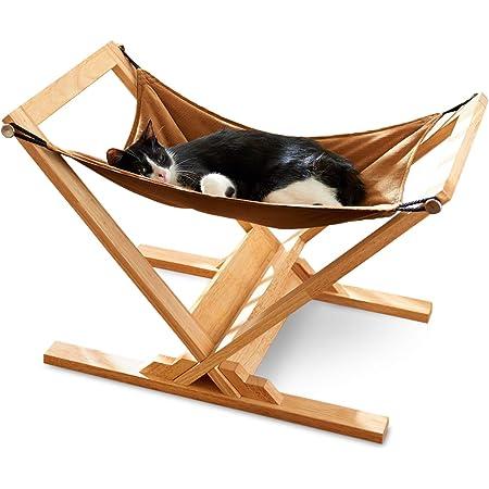 【OFT】 キャットハンモック アドバンス キャットベッド 木製 クッション 日本製 猫 ハンモック