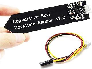 Capacitieve bodemvochtigheidssensor Hygrometer Vochtigheidsdetectiemodulekit, compatibel met Arduin0, 2 stuks