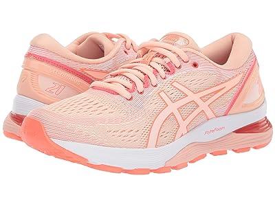 ASICS GEL-Nimbus(r) 21 (Baked Pink/White) Women