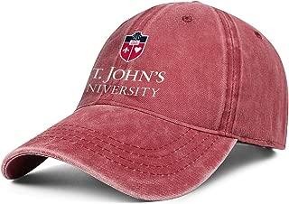 Baseball Cap - St.-John's-University-Logo- Adjustable Classic Cowboy Hat for Men Women