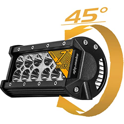 Eyourlife 36w Led Light Bar,1Pcs 7 inch 36W Spot LED Work Light Off Road