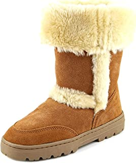 Womens Witty Suede Faux Fur Casual Boots