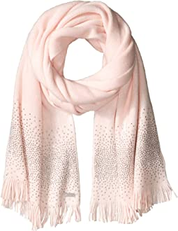Ombre Crystal Studded Scarf