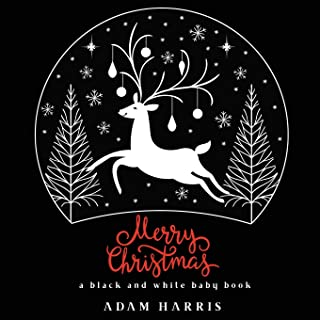 Merry Christmas: A Black and White Baby Book (High Contrast Baby Books)