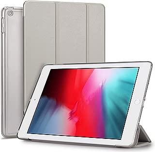 TENDLIN iPad Air 2019 ケース iPad Air3 10.5インチ 保護カバー オートスリープ機能付 軽量 衝撃吸収 傷つけ防止 三つ折りスタンド レザースマート薄型カバー 2019年発売の10.5インチ iPad 対応 (グレー)