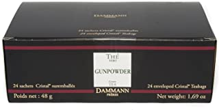 DAMMANN FRERES Gunpowder Green Tea, 24 Cristal Teabags
