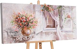 YS -Art   obraz akrylowy Provence   ręcznie malowane obrazy na płótnie   120 x 60 cm   obraz ścienny obraz akrylowy   sztu...