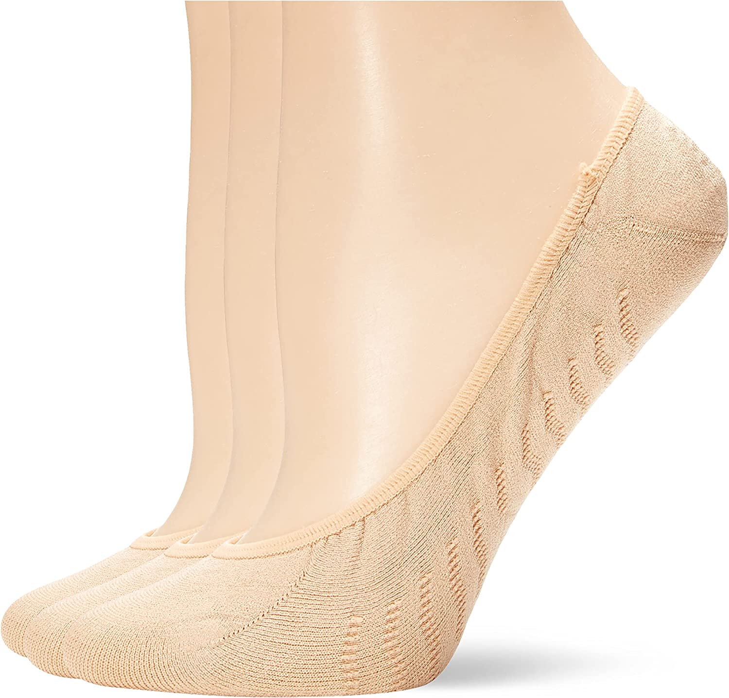 Sperry womens Micro No Show 3 Pack Liner Socks