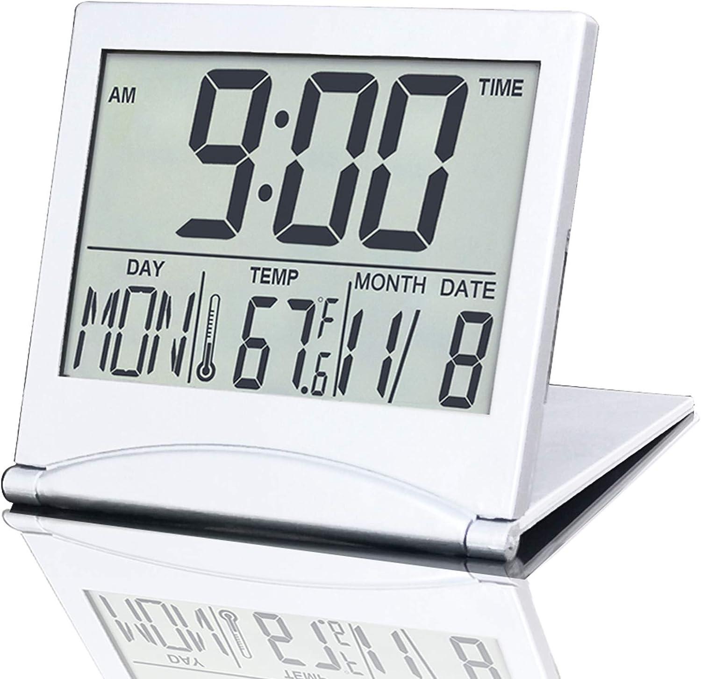BESTWYA Travel Very popular Clock National products Slim Compact Multifunction Al Digital Size