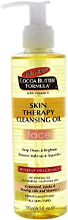 Palmers Cocoa Butter Skin Therapy Cleansing Oil, Face, Rosehip Fragrance, 6.5 Fl Oz
