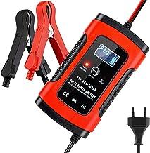 Cargador de Batería Coche Moto, BUDDYGO 6A 12V Full Automático Inteligente Mantenimiento de batería con Múltiples Protecciones para Automóviles, Motocicletas, ATVs, RVs, Barco