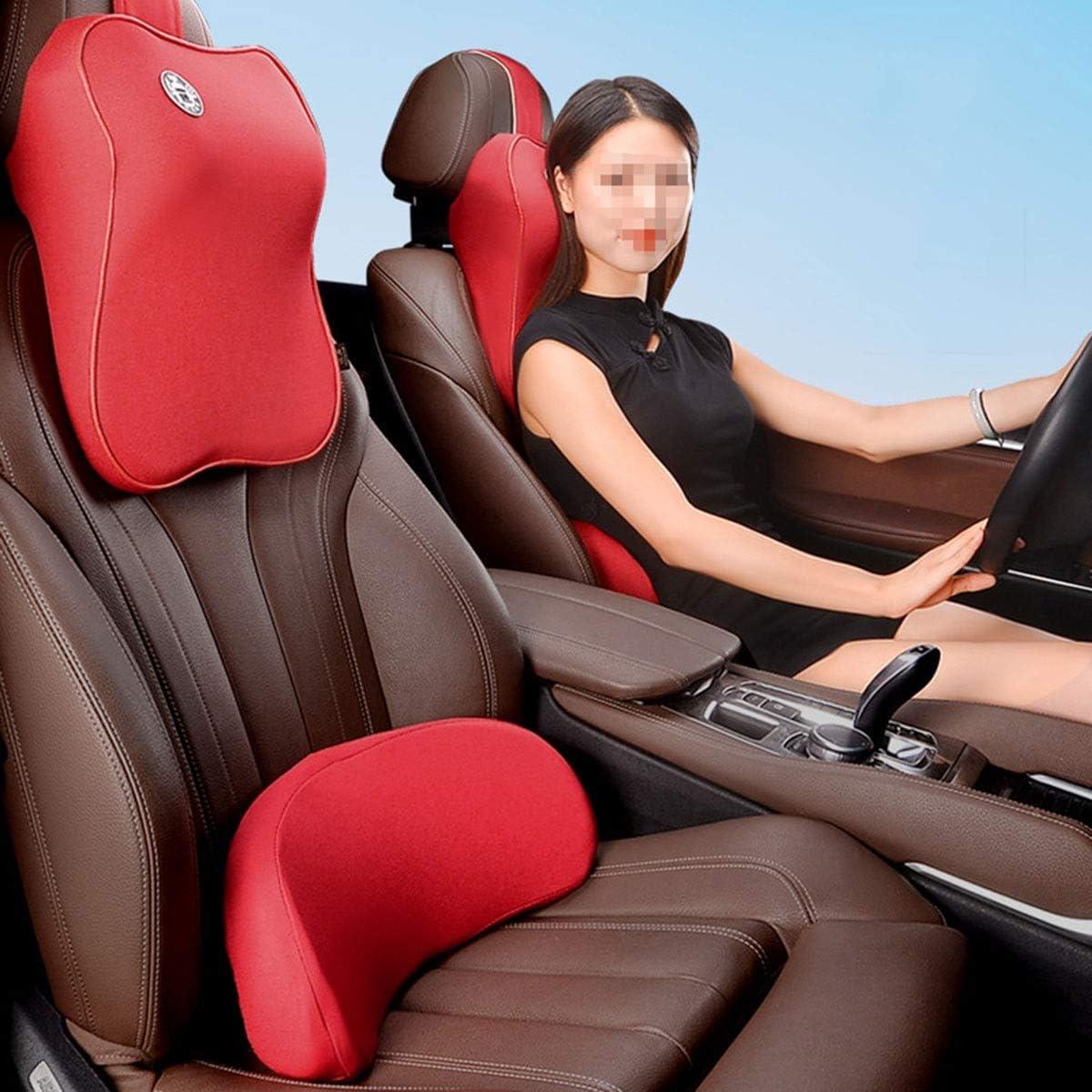 DXMCC Car Headrest Lumbar Support Arlington Mall Neck Pillow Lum New product! New type Pad