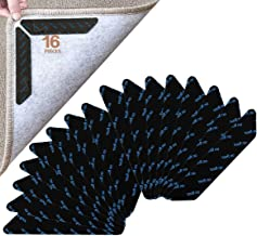 UCIN 16X Carpet Gripper, Anti-Slip Rug Grippers Mat Reusable Anti Curling Rug Gripper Carpet Underlay Carpet Stopper, Stro...