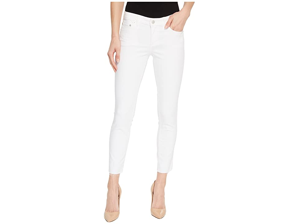 Lucky Brand Lolita Crop Cut Hem Jeans in Clean White (Clean White) Women's Jeans