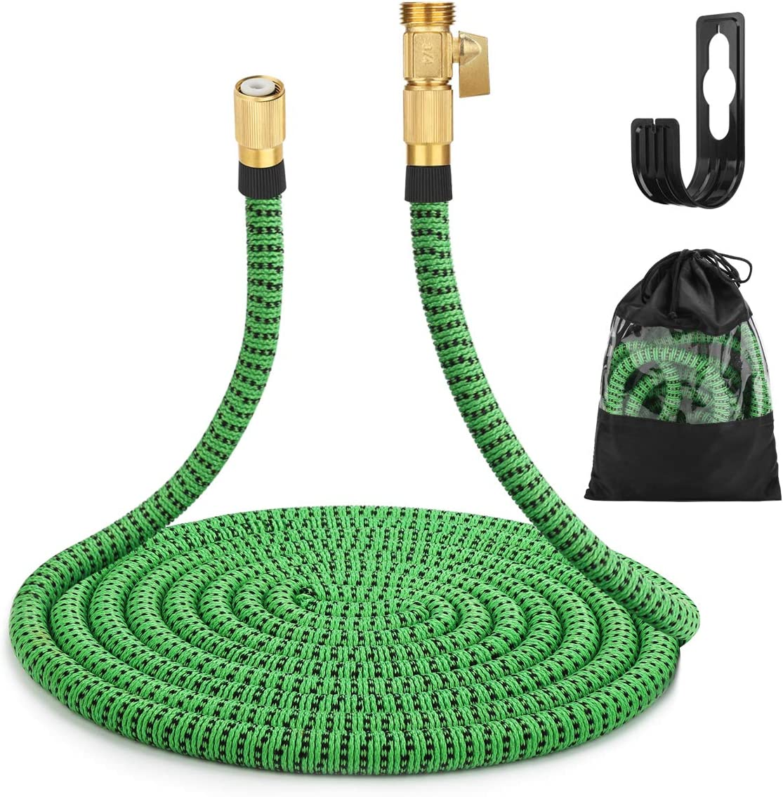 Gobetter favorite Expandable Garden Hose 50 Indianapolis Mall ft Triple Core Latex 3 With