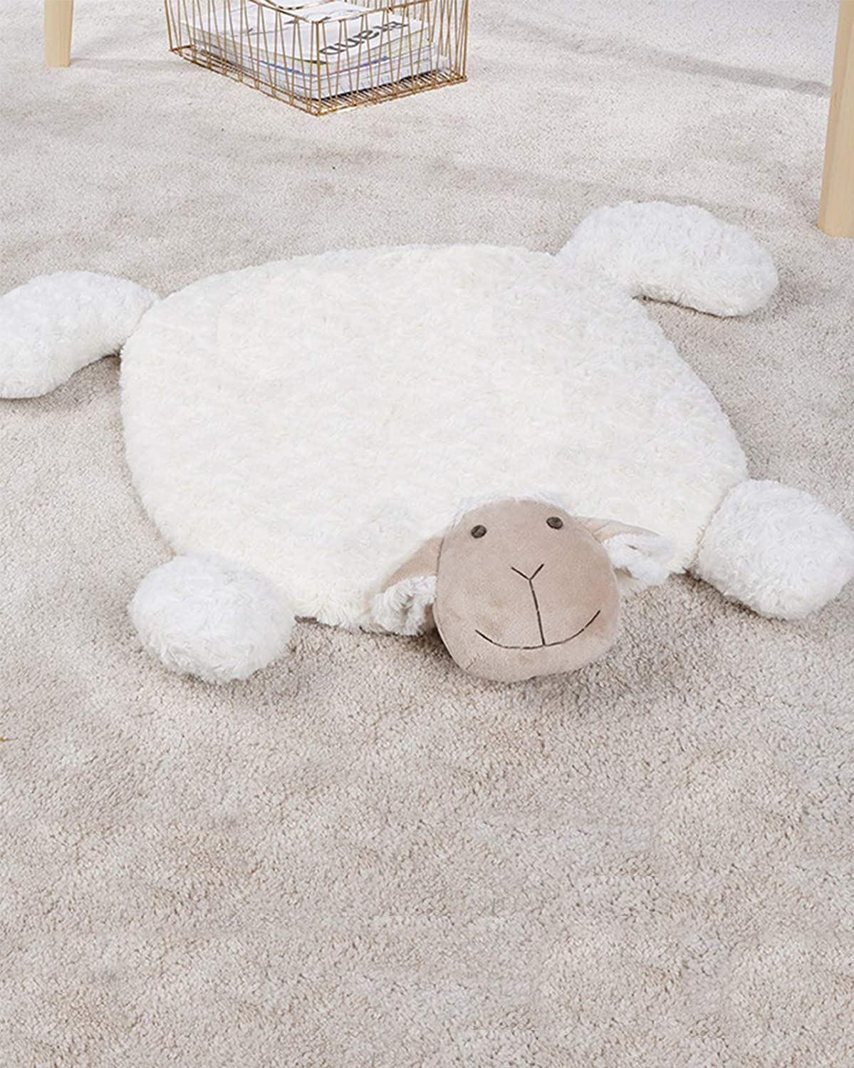 Round Quantity limited Area Rug Fluffy Soft Ultra-Cheap Deals fo Shaggy Fuzzy Circular Carpet