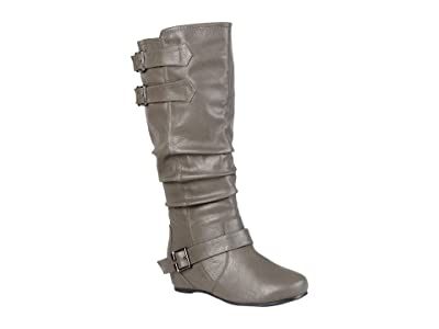 Journee Collection Tiffany Boot (Grey) Women