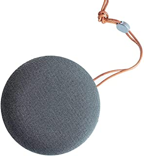 2B (SP335) Fabric Bluetooth Speaker Rounded Style - Silver/Gray