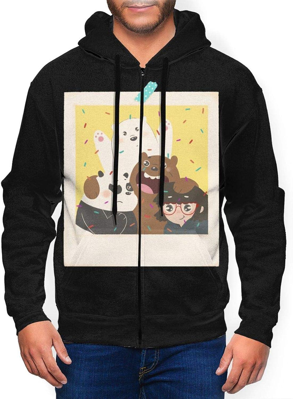 We Bare Bears Mens 5% OFF Hoodies with Full-Zip Hat 3D OFFer Hoodie Hoo Sport