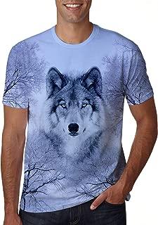 Unisex 3D Creative Print Short Sleeve T-Shirt Casual Graphic Tees