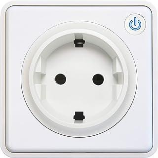 Lightwave L41TFWH Smart Socket - Metal blanco, 3000 W, 230 V