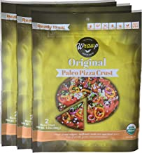 product image for Paleo Pizza Crust | 3 Pack Original Flavored Organic Gluten Free, Dairy Free, Soy Free, Nut Free and Vegan Pizza Crust (Original, 3 Pack)