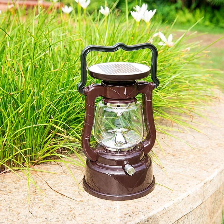 貫通骨固有の屋外防水ガーデンライトソーラーデコレーションライトLED列ヘッドライトポータブルキャンプライト