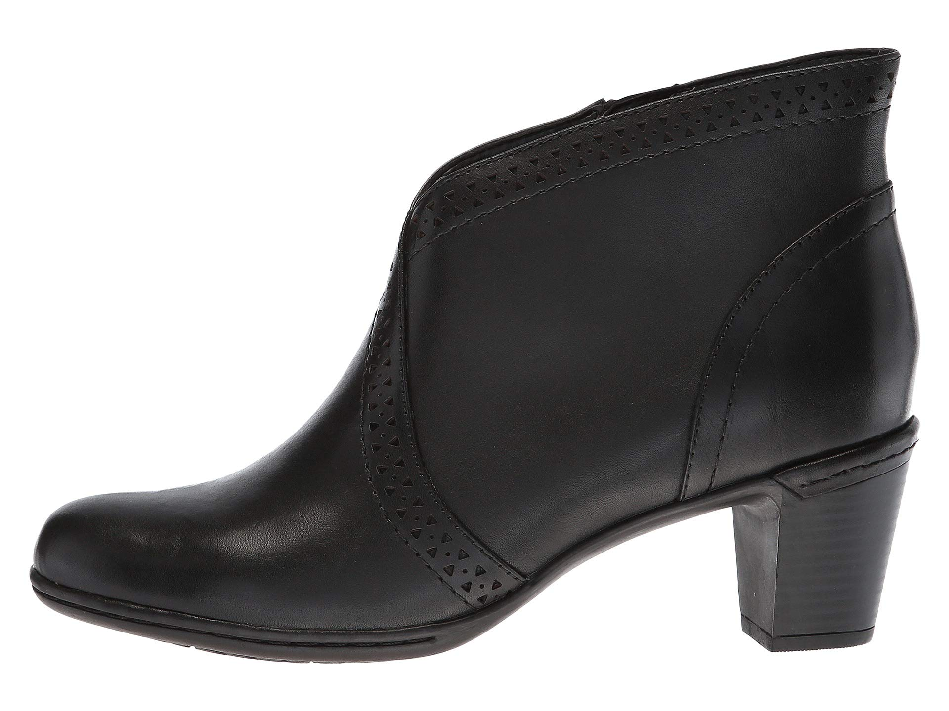 V Black Rockport Rashel Hill Cobb Cut Boot Leather Collection IxH6pwHO