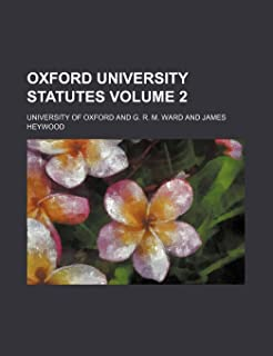 Oxford University Statutes Volume 2