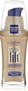 L'Oréal Paris Visible Lift Serum Absolute Foundation, Light Ivory, 1 Fl Oz (1 Count)