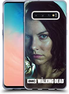 Official AMC The Walking Dead Maggie Characters Soft Gel Case Compatible for Samsung Galaxy S10