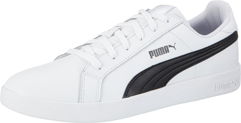PUMA Womens Smash WNS L White Black