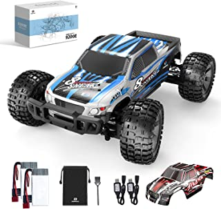 DEERC 9200E RC Cars 1:10 Scale Large High Speed Remote Control Car for Adults Kids,48+ kmh 4WD 2.4GHz Off Road Monster Tru...