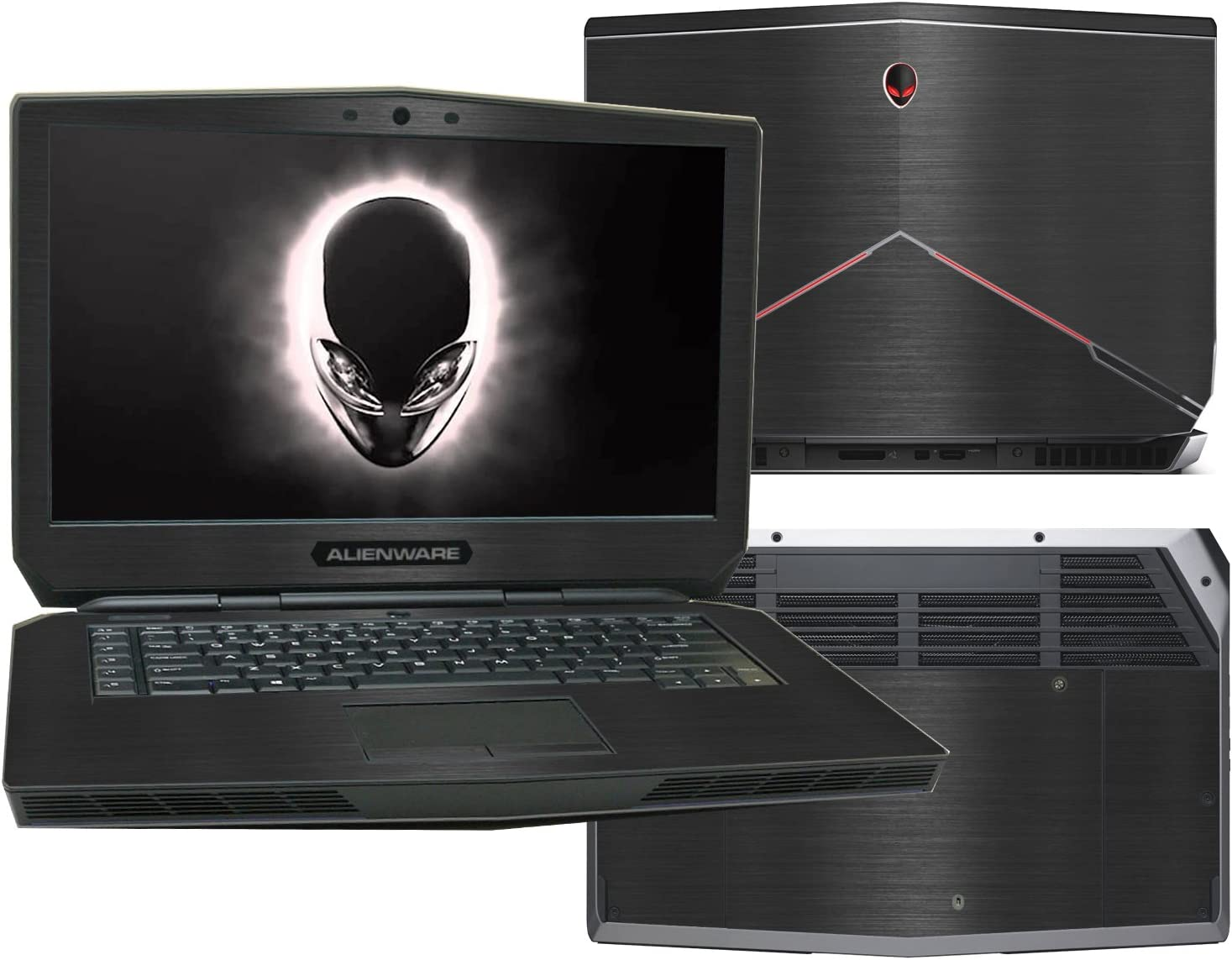 Large special price !! New color Decalrus - Protective Decal for 15 Alienware 2015 Non-To Release