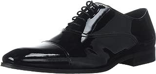 Men's Tux Cap Toe Tuxedo Formal Oxford