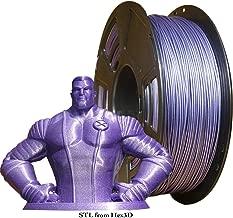 Colorthread 3D Printing Filament PLA Gypsophila Sparkling Purple 1.75mm 1kg Accuracy +/-0.05mm