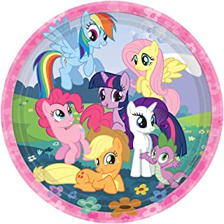 American Greetings  My Little Pony Party Supplies Paper Dinner Plates, 8-Count